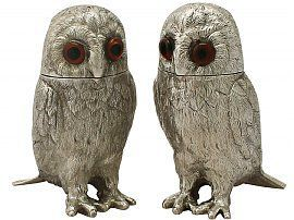 Silver 'Owl' Pepperettes