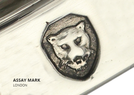 Sterling Silver Hallmarks London Assay Mark
