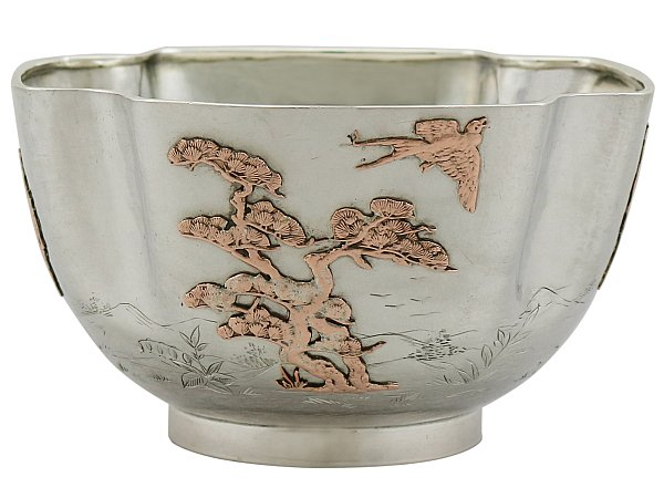 Antique American Silver Bowl