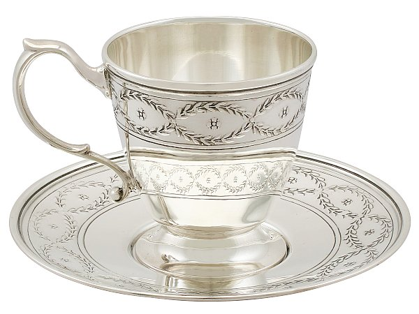 Tiffany & Co Cup and Saucer