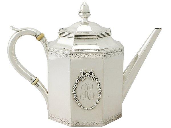 American Silver Teapot