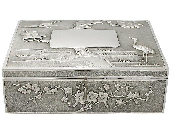 Chinese Silver Box