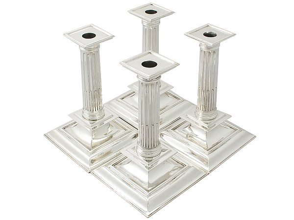 column candlesticks
