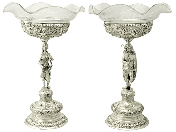 Silver Centrepieces/Epergnes