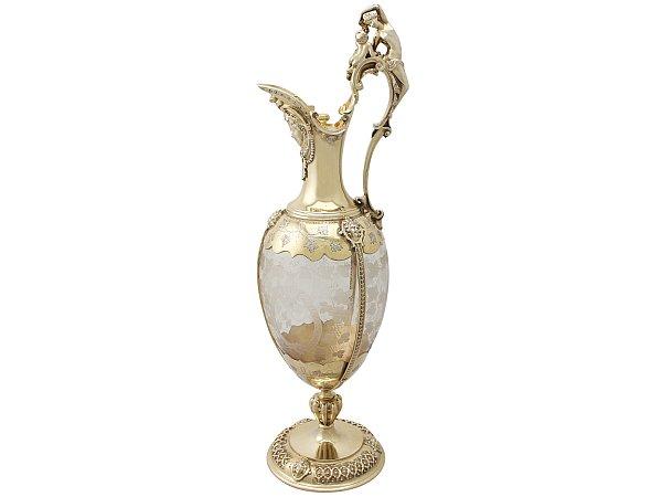 Antique claret jug