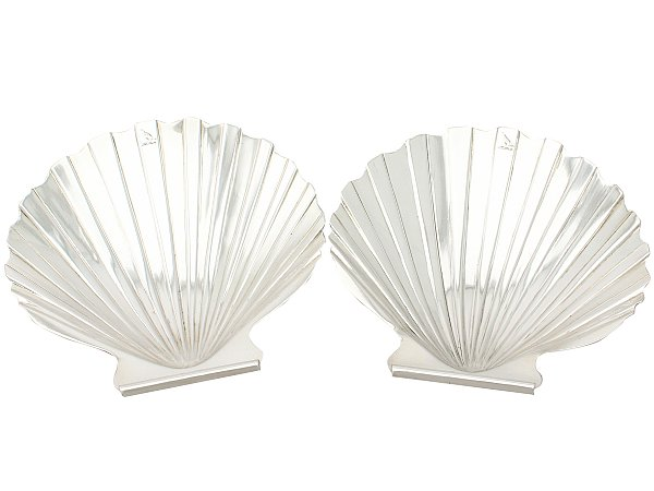Silver butter dishes