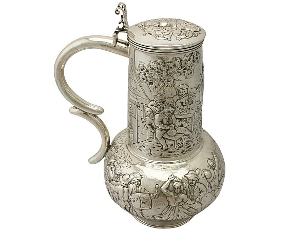 History of the flagon