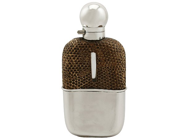 Victorian hip flask