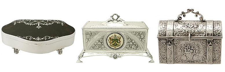 jewellery box history