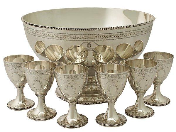 Bowl and Goblet Set