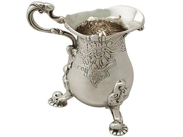 Rococo cream jug