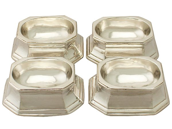 Silver trencher salts