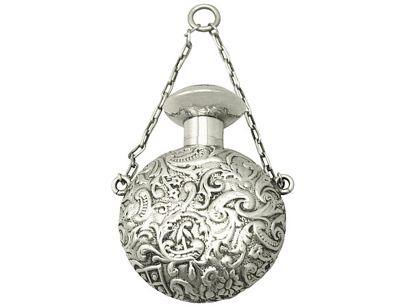 Silver Scent Flask