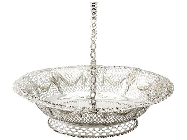 Silver Cake Basket