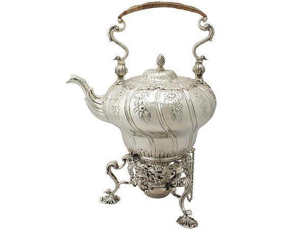 Silver Teaware