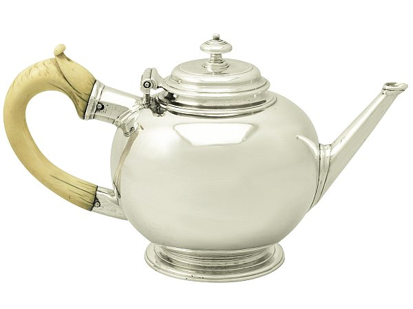 Bullet Shaped Teapot