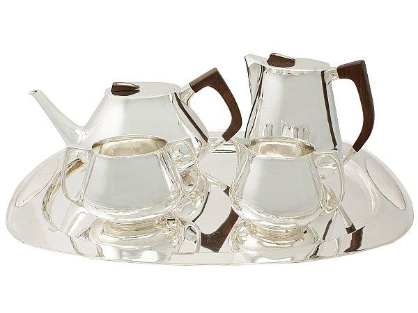 silver teaset