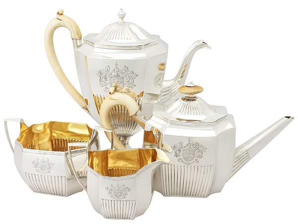 sterling silver teaset history