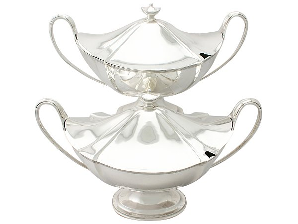 Silver tureens