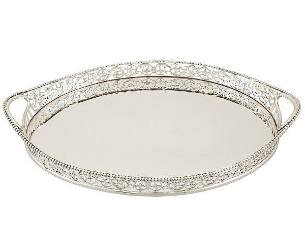0972023abe3e Edwardian Tray in Sterling Silver
