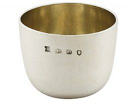 Sterling Silver Tumbler Cup - Antique George II