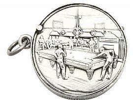 Sterling Silver Vesta Case - Antique (1906)