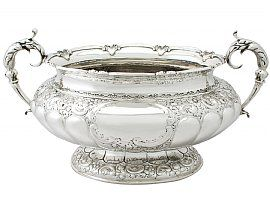Sterling Silver Presentation Centrepiece - Antique Victorian (1895)