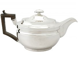 Sterling Silver Teapot - Antique George III (1807)