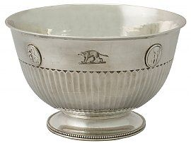 Sterling Silver Bowl by Benjamin Smith III - Antique George III