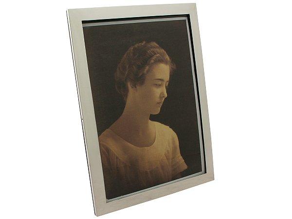 65cc6cf16a9 Sterling Silver Photograph Frame - Antique Circa 1935