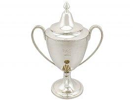 Sterling Silver Coffee Urn - Antique George III