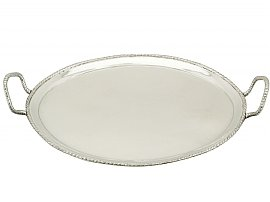 Italian Silver Tray - Antique Circa 1800