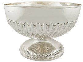 Sterling Silver Presentation Bowl - Antique Victorian (1899)