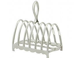 Sterling Silver Toast Rack by Walker & Hall - Antique George V (1926)