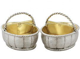 Sterling Silver Salts - Antique George III (1788)