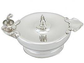 Sterling Silver Table Lighter - Antique George V (1925)