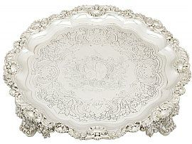 Sterling Silver Salver by Paul Storr - Antique George III (1819)