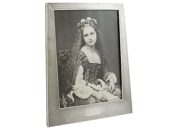 Art Deco Silver Photo Frame For Sale Ac Silver