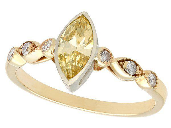 unusual engagement ring