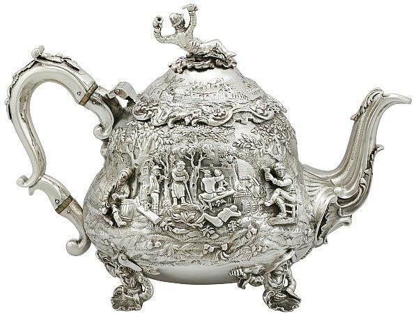 Antique Sterling Silver For Sale in
