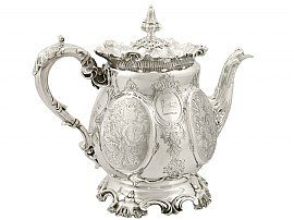 Sterling Silver Teapot - Antique Victorian (1893)