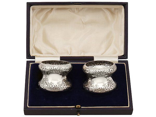 Sterling Silver Napkin Rings - Antique Edwardian (1905)