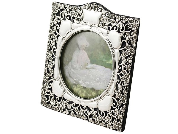 Antique Silver Frame | Photo Frames for Sale | AC Silver
