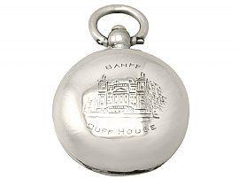 Sterling Silver Sovereign Case by Samuel M Levi - Antique George V